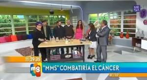 Programa de televisión Chilena Mucho Gusto «MMS» Combatiría el Cáncer