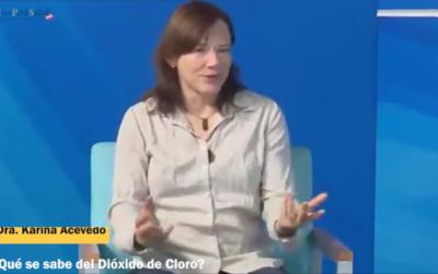 Entrevista a la Dra. Karina Acevedo de México, mostrando evidencia científica sobre las bondades del d10x1d0 d3 cl0r0